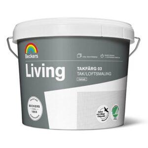 Beckers Living Loftmaling 03 Hvid 10 Liter