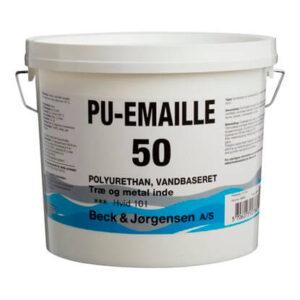 Beck og Jørgensen PU-Emaille 50 Træmaling 3 Liter