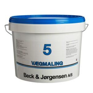 765 Beck og Jørgensen 5 Vægmaling