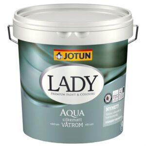 Jotun LADY Aqua Vådrumsmaling 4,5 Liter